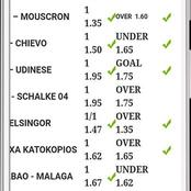 Monday games to stake on and win Ksh 18K