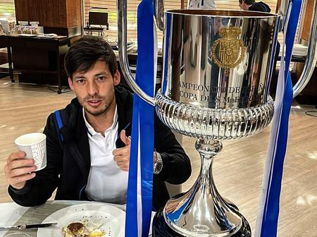 After David Silva Wins the Copa Del Rey with La Real Yesterday, See the New Record He Just Set.
