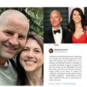 Taking A Look At What Jeff Bezos's Ex-wife Posted In 2019 To Affirm Her Divorce As she Remarries.