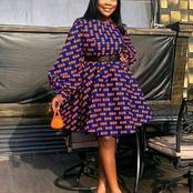 Trendy and stylish Ankara short flare gowns for every lady