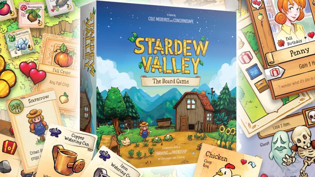 Stardew Valley se décline aujourd'hui en jeu de société !