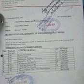 Governor of Narok County Samuel Ole Tunai Under Siege For Allocating Funds To Non Existing Road