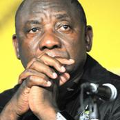 Ramaphosa confirmed this : ANC tops six to meet Zuma