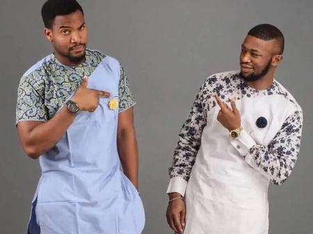 Nice Plain And Pattern Men Ankara Design You Would Love To Try Out This Year [Pictures]