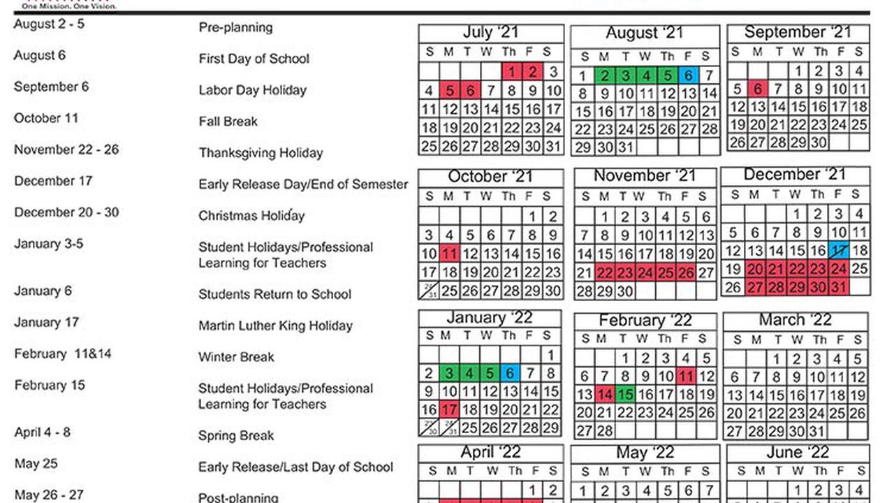 Chicago Public Schools Calendar 2022 23.Lowndes Releases Approved 2022 23 School Calendars Opera News