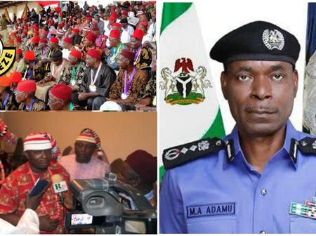 Ohanaeze Ndigbo youths blow hot,  see what they said about former IGP allegation on them