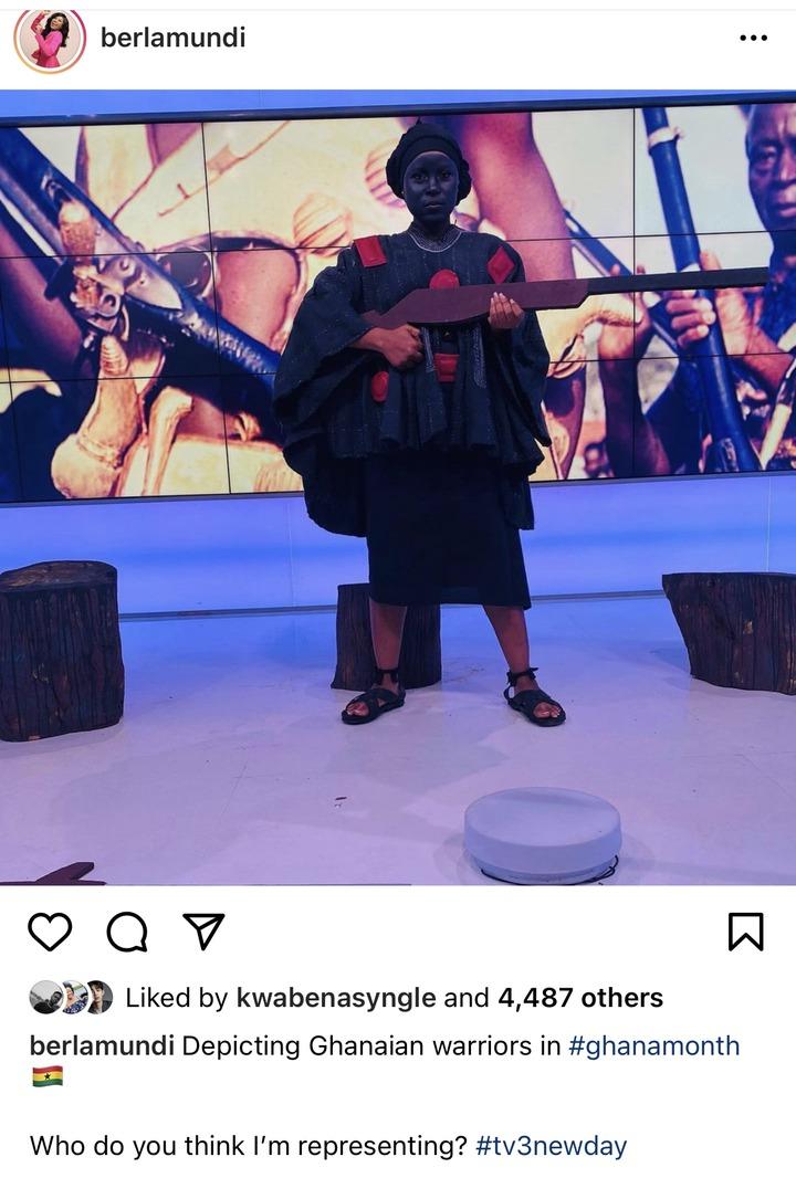 9d1c5e906b6b46be8a8c7dc1825d70bc?quality=uhq&resize=720 - Berla Mundi Goes The Ashanti's Way As She Dresses Like Yaa Asantewaa - Photo Causes Massive Stir