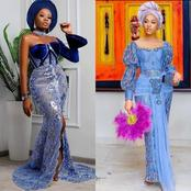 Latest Exotic Aso Ebi Styles To Try Out This Mother's Day