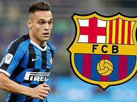 Barcelona could announce the signing of Lautaro Martinez during winter.