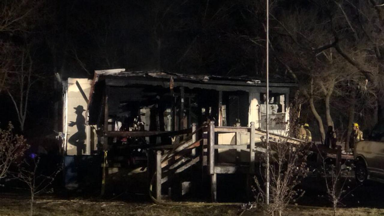 One person dead, one injured after a house fire in Iberia