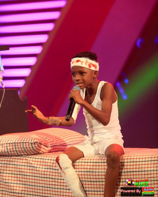 9d40a178dd6443e781151456952a1c5b?quality=uhq&resize=720 - Talented Kids Contestant, Akwadaa Nyame Dumbfounds Audience After His Performance As Accident Victim