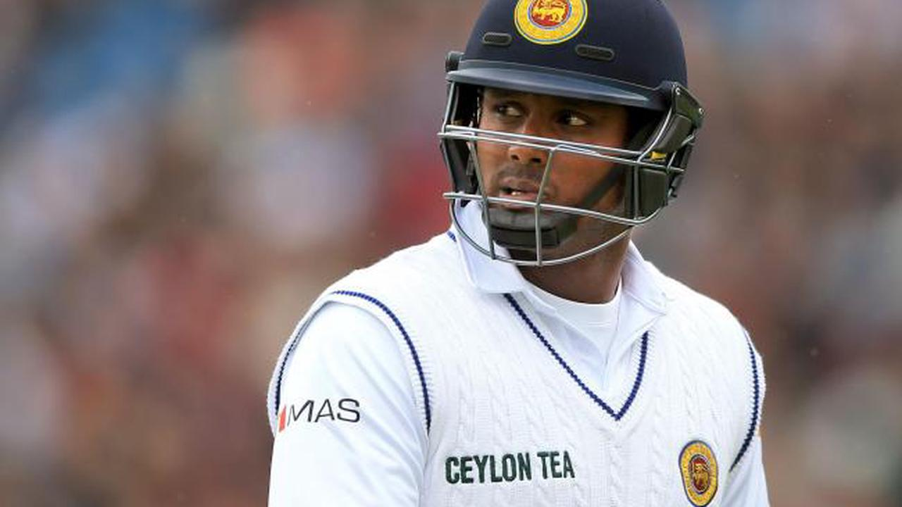 Angelo Mathews half-century holds up England's bid for first Test victory