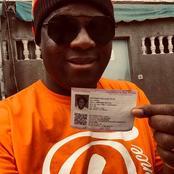 People: Après avoir retiré sa carte d'électeur, Fadal Dey invite tous les ivoiriens à faire pareil