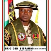 Meet Brigadier General Shuaibu Ibrahim, The Former Registrar Of Nigerian Army University Biu