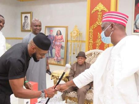 Kwankwaso Attended The Wedding Ceremony Of The Families Of Former Governor Of Abia State, At Umuahia