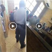 Watch: Chaos At Jouberton Police Station As Group Of Men Demand To See Station Commander