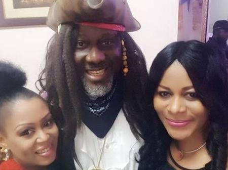 Photos Of Dino Melaye With RMD, Tboss, Segun Arinze, Tonto Dike, Natasha Apkoti And Other Celebrities
