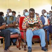 Raila Joins Christians at St. Stephen's Lwanya Catholic Church in Busia For Sunday Mass(Photos)