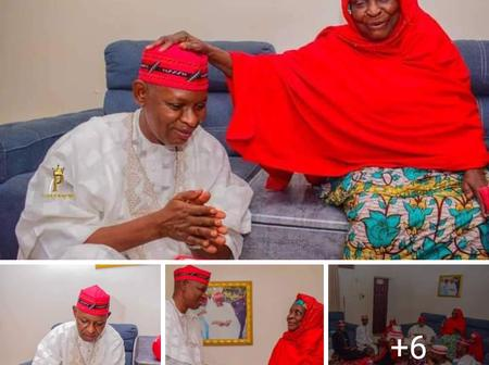 Kano Governorship Aspirant Received Quran as Birthday Gift from His mother [Photo]