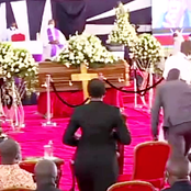 Here's What Was Noticed As President Uhuru Was Leaving Juja MP's Funeral [Video]