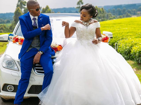 Njugush's Younger Brother Ndegwa Marries The Love of His Life