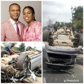 Top Nigerian Pastor & His Wife Miraculously Survive Ghastly Motor Accident