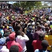 DP Ruto Brings Business to a Standstill as he Storms Nandi County a Day After Rejecting BBI(Video)