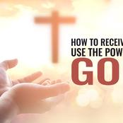 Prayer For Receiving Good Things