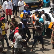 Breaking- Armed Robber Captured In Daylight At Bantama; Residents Didn't Take It Lightly