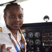 Meet Maame Esi Swatson, the youngest female commercial pilot in Ghana