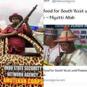 Miyetti Allah Says The President's Order To Kill Anyone Holding Illegal Ak-47 Rifle Should Affect Amotekun