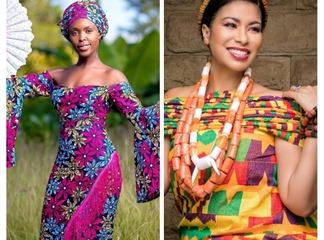 Who Rocks Ankara Outfits Best? Actress Awinja or Julie Gichuru (Photos)