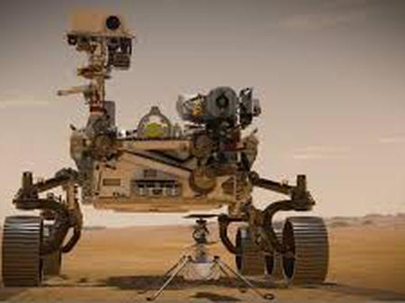 Perseverance Rover Land on Mars