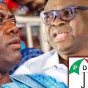 Ayodele Fayose Blows Hot, Says Makinde Should Stop Disrespecting Him Or Else There Won't Be Peace