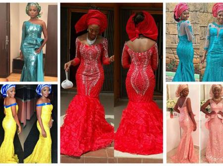 9 Magnificent Aso Ebi In Lace Styles for December Owambe