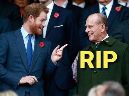 Hours After The Death Of Prince Philip, Do You Think Prince Harry Will Attend His Grandpa's Burial?