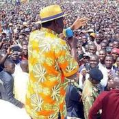 Raila Receives Presidential Welcome In Taita Taveta County Ahead Of His Two-Day Tour [PHOTOS]