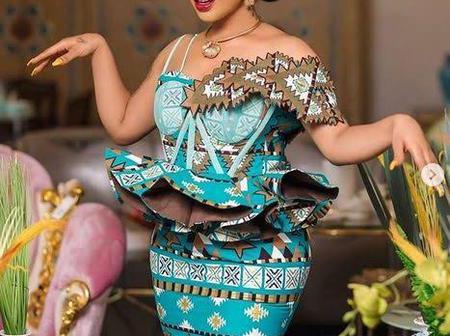 6 times Tonto Dikeh gave us similar fashion styles on Anakara fabric.