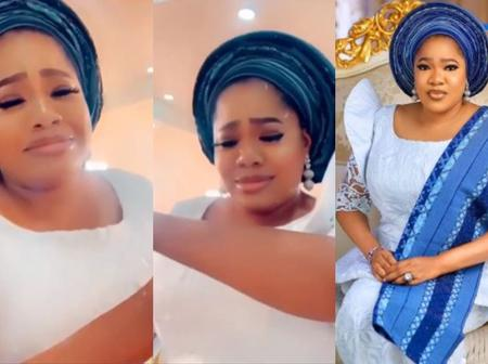Yoruba Actress Toyin Abraham Laments As She Almost Lost Her Life Today.