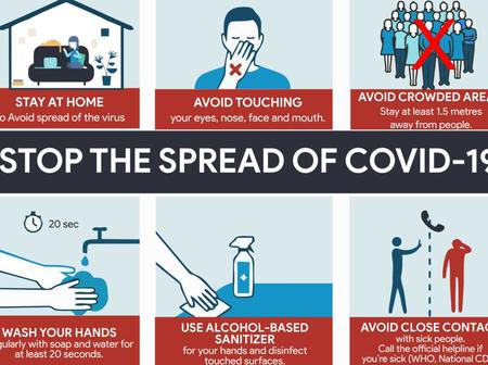 Nairobians Should Take Precaution To Minimize The Spread Of Covid-19