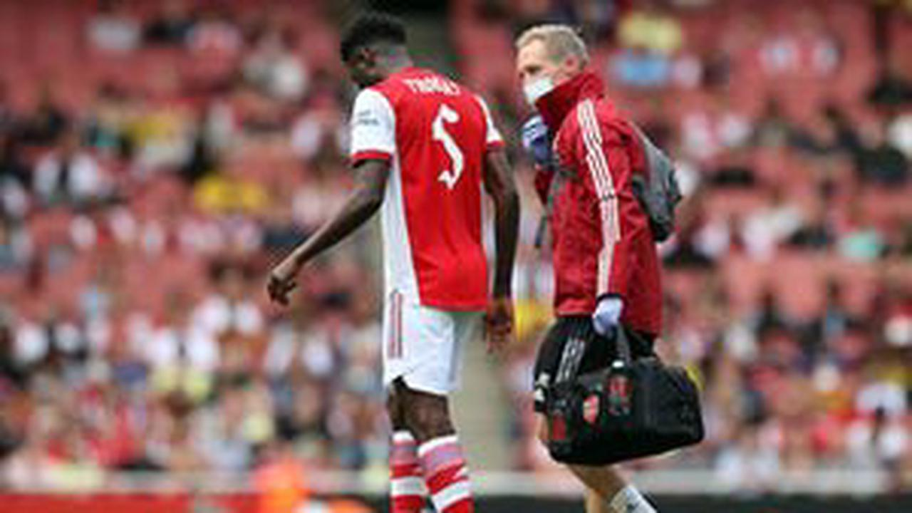 Thomas Partey requires scan on his ankle after preseason Chelsea clash