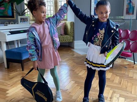Mikel's Twin Daughters Out To Replicate Tennis Feats Of Venus And Serena Williams