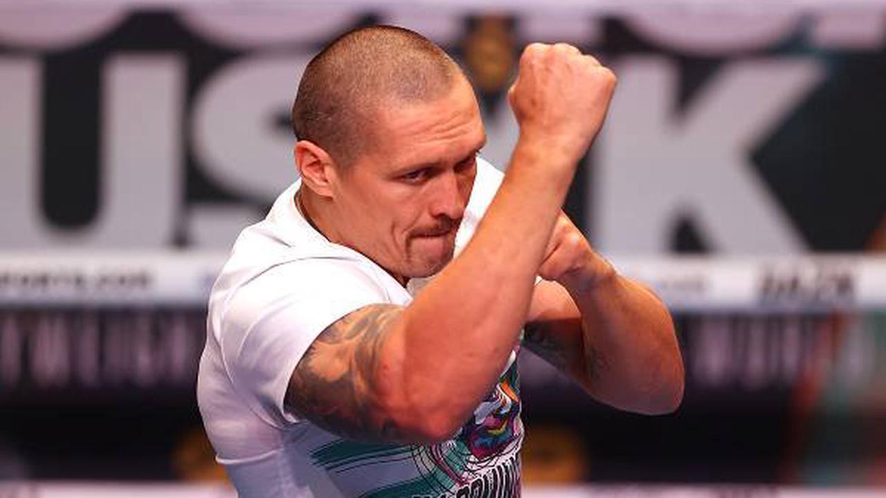 Boxen: Anthony Joshua berichtet vor Kampf gegen Oleksandr Usyk von Schwierigkeiten