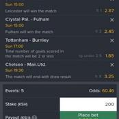5 Sure English Premier League Matches to Win you Big This Weekend