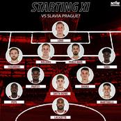 Check the possible lineup Arsenal would use to beat Slavia Prague and qualify for UEL semi-final