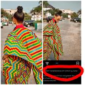 See What Tacha Just Posted About Ghana's Independence Anniversary