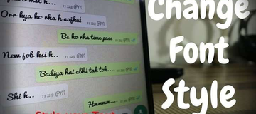 How to change your WhatsApp fonts without downloading any special keyboard