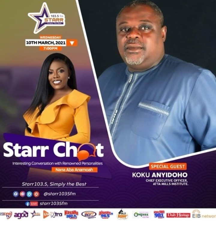 """9e0e3f0ba2d147feb03659f4ebb9157e?quality=uhq&resize=720 - """"Don't Annoy Me"""" - Moment Anyidoho Almost Walked Out Of An Interview With Nana Aba Anamoah"""