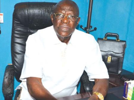 Meet Frank Odita, one of the finest officers Nigeria ever had in the Police Force