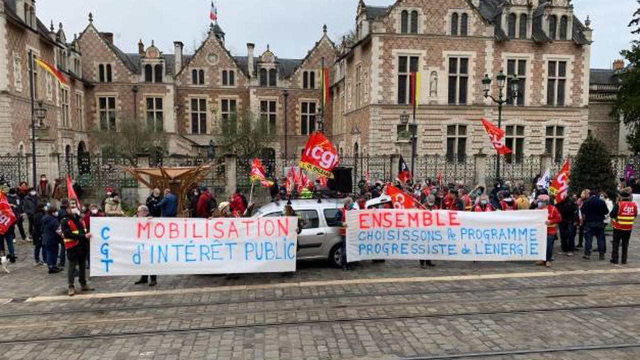 Grève interprofessionnelle ce jeudi : environ 500 manifestants au total, dans le Loiret